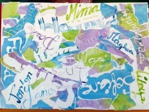 Prénom calligraphie