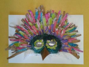 Masque d'oiseau