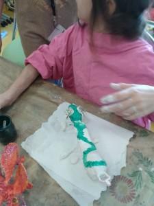 Atelier d'arts plastiques à l'hôpital
