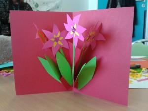 Pop Up fleurs