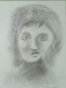 Dessiner son portrait avec un crayon