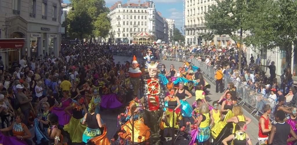Défilé de la biennale de la danse 2014 - Rillieux-la-Pape