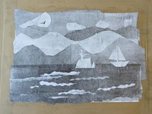 Bateau et baleine