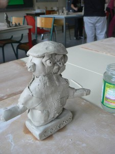 Modelage de Christophe Colomb