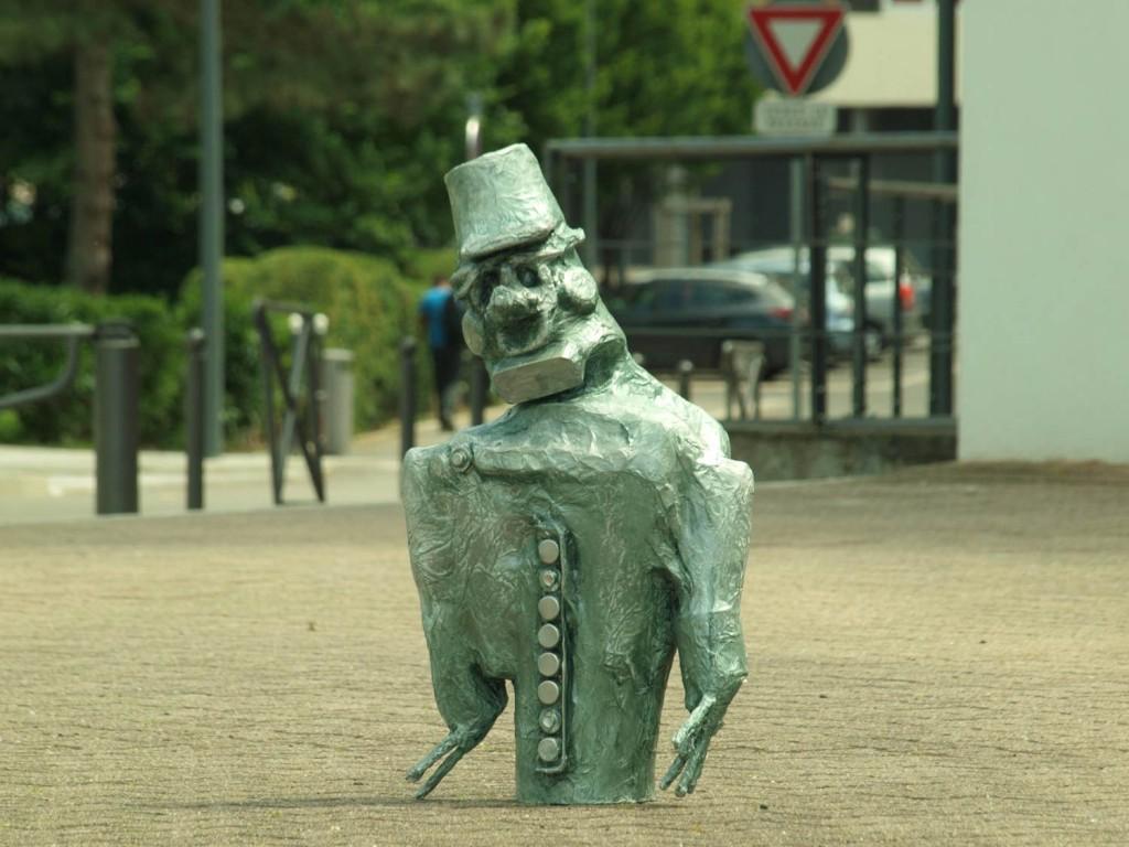 Le général de Gaulle dans la ville
