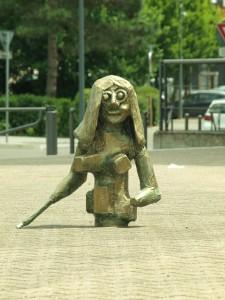 Jeanne d'Arc dans la ville