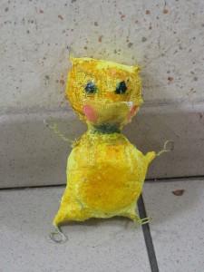 Petite créature jaune