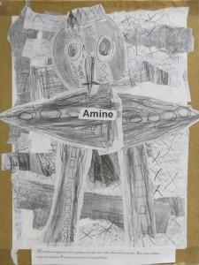 Le dessin d'Amine