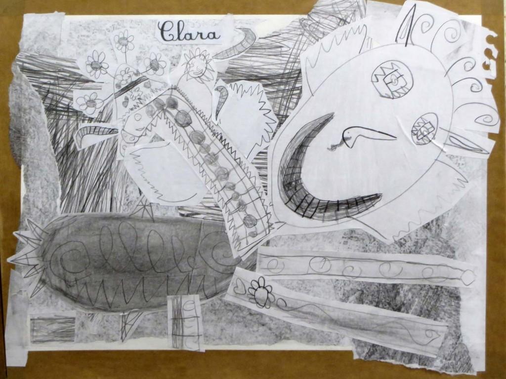 Animal inventé par Clara