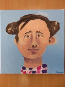 Petit tableau à l'acrylique