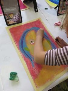 Peindre son portrait en couleur