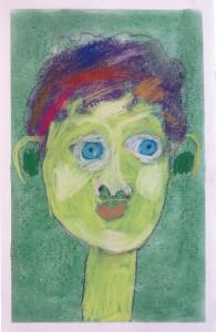 Portraits au pastel sec