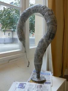 Serpent prêt à être peint