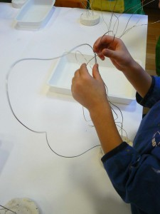 Sculpter avec du fil de fer