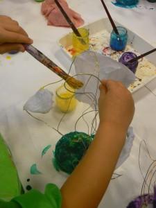 Peindre le socle