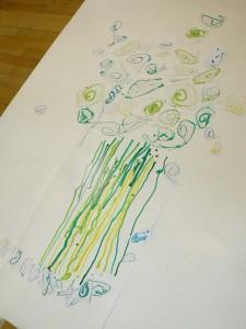 Dessiner un arbre avec des spirales
