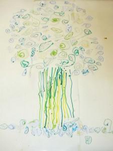 Jeu de lignes pour un arbre