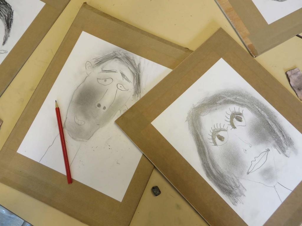 Deux portraits d'enfant