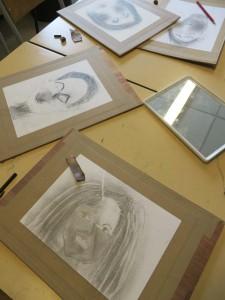 Autoportraits et miroir