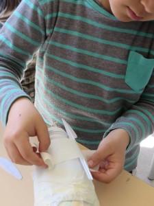 Des couteaux en plastique pour les griffes