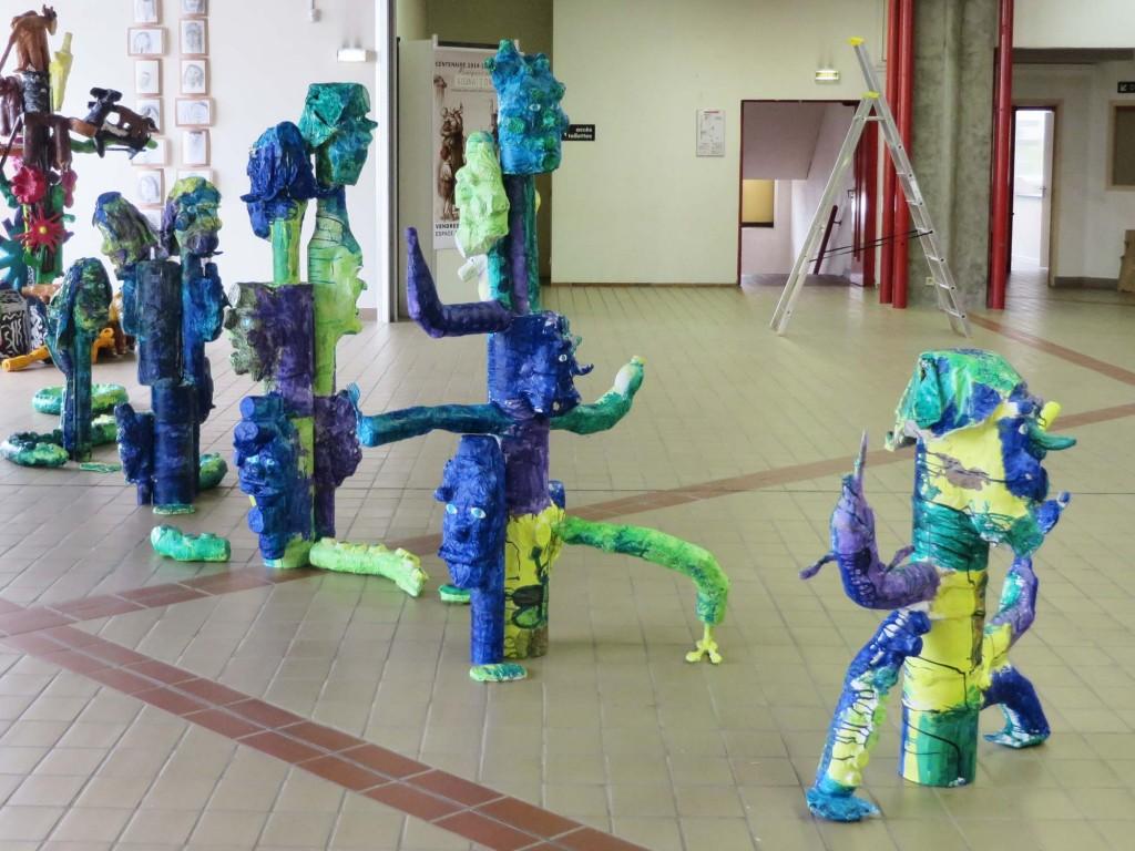 Notre monstre vert et bleu