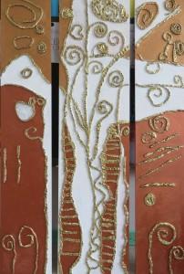 Arbre à la manière de Klimt