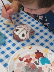 Atelier artistique avec les enfants