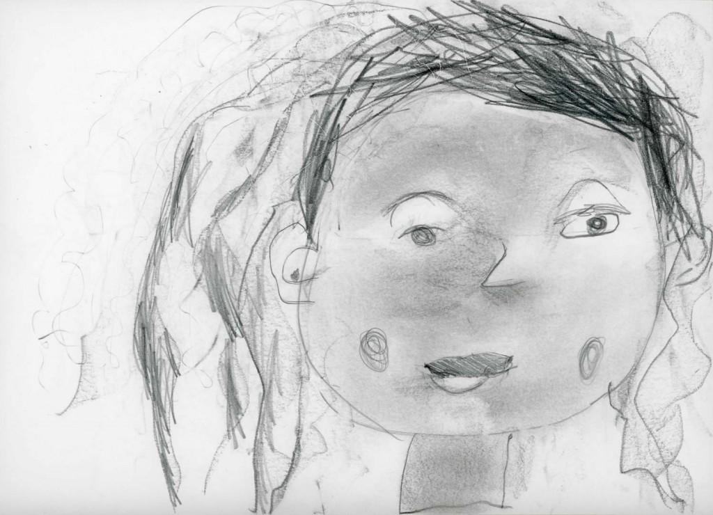 Portrait d'enfant au CP