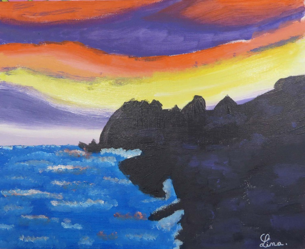Le paysage maritime de Lina