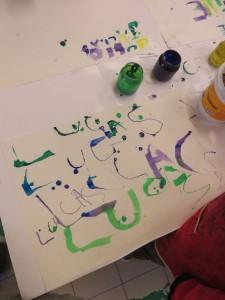 Calligraphier son prénom