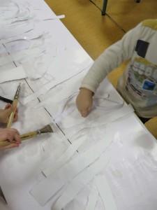 Activité manuelle à la maternelle