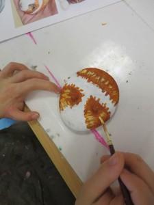 Peinture du pelage
