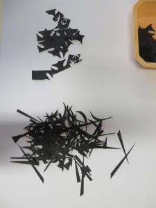 Fragments, pointes et courbes