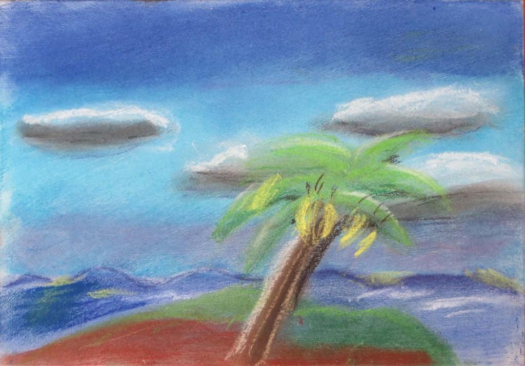 Bananier sur une île déserte
