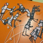 Marionnettes pour notre théâtre d'ombres