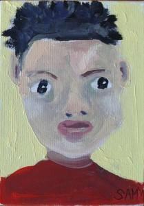 Peinture d'enfant