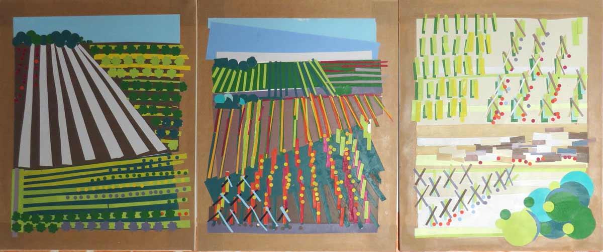 Fresque Peinte Sur Le Mur De Lécole Maternelle Artiste