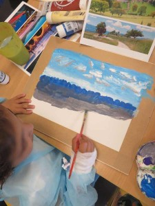 Jeune artiste de 7 ans ...