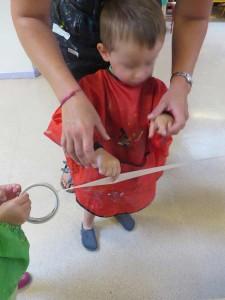 Apprendre à déchirer le ruban