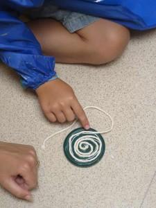 Spirale en cordelette