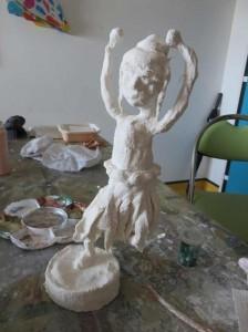 Habillage de la figurine