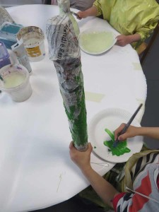 Peindre un concombre