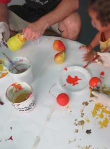 Peindre une poire