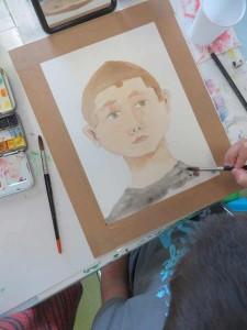 Dessiner son auto portrait