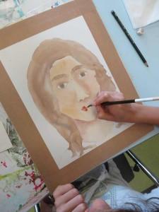 Peindre la bouche