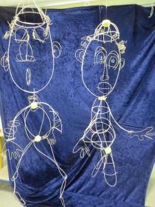 Sculpture à l'école