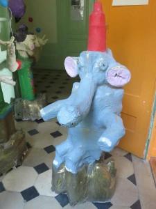 La tour/éléphant