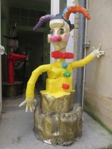 Deuxième fou/clown