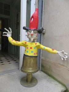 Premier fou/clown