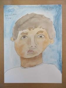 L'autoportrait de Fares, 8 ans